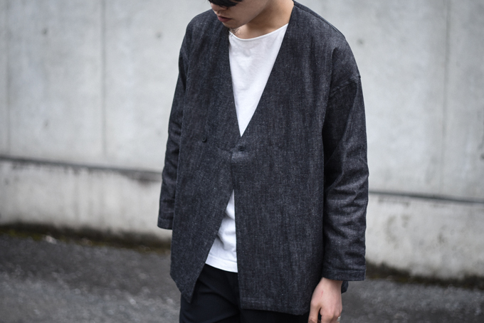 UNITUS -denim shirts cardigan-