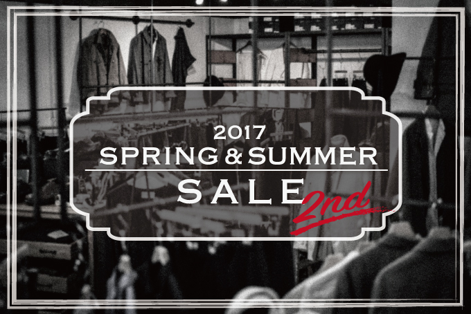 2017 Spring & Summer 2nd Sale Start