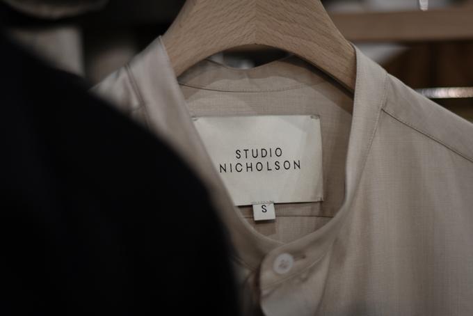 New Brand -STUDIO NICHOLSON-