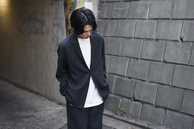 AURALEE -Selvedge Wool Easy Jacket & Pants-