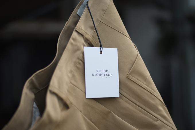 STUDIO NICHOLSON -Bonsai Pants-