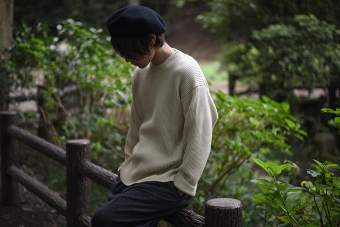AURALEE -Super Fine Wool Rib Knit-