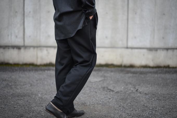 MASTER&Co. -Flannel Draw String Pants & Shoulder Bag-