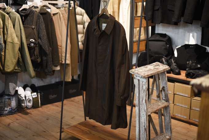 Used -Brown Mix Winter Coat-