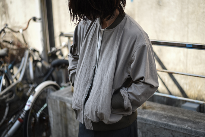 WIRROW -Zip Up Blouson-