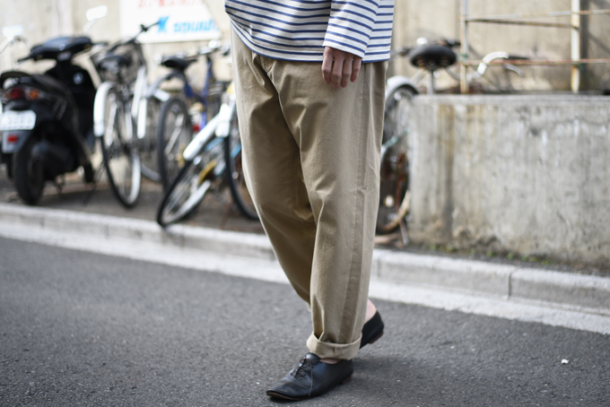 YAECA -Chino Wide Tapered-
